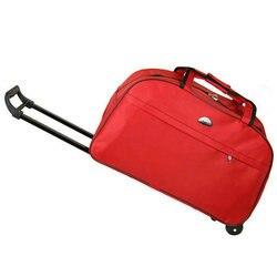 Новый водонепроницаемый чемодан на колесиках толстый стиль прокатки чемодан на колесиках для женщин и мужчин дорожные сумки чемодан с коле...