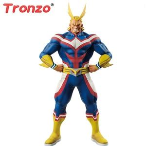 Image 1 - Tronzo Original Banpresto Action Figure My Hero Academia All Might Figure PVC Collection Model Toys All Might Doll Brinquedos