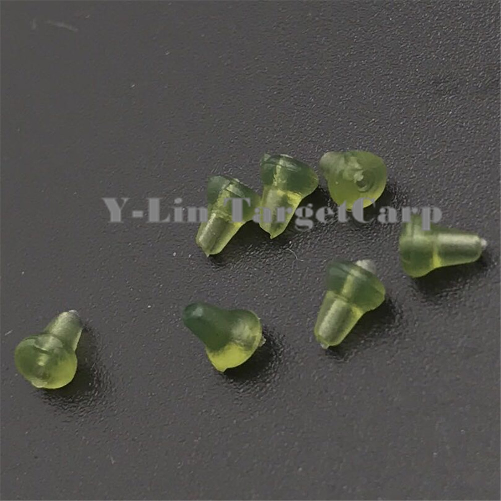50pcs Clear Black Green Carp Fishing Hook Stoper Uxcell Waved Plastic Handle Pcb Circuit Board Anti Static Brush Holder Rubber Pop Up Rig Shank Beads Accessories Of Lures China