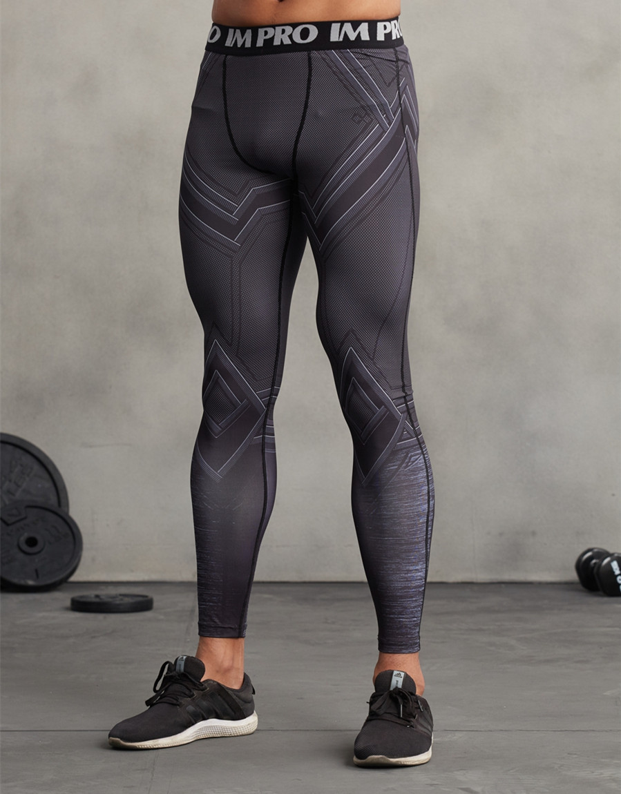 3D Printed Compression Tights for Men