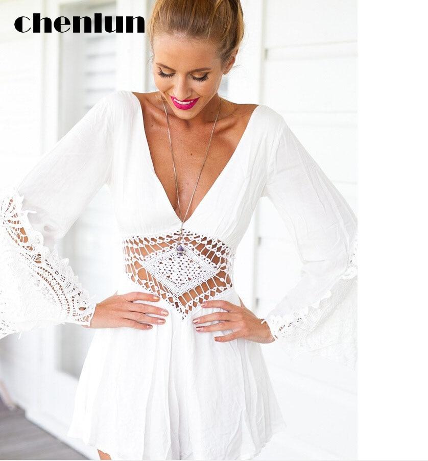 Online Get Cheap Short White Halter Dress -Aliexpress.com ...