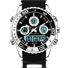 Readeel Fashion Brand Men Sports Watches Led Display Digital Analog