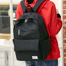 Korean casual backpack computer travel bag junior high school student high school student bag men and women backpack the student travel book wrapping retro computer bag backpack men s casual backpack crazy horse