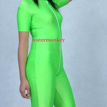 WaterMonkey Women men kids short Sleeve Turtleneck Unitard Lycra Bodysuit Nylon