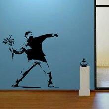 De Baratos Tapiz Mural Banksy Papel Compra Lotes 8kXwn0OP