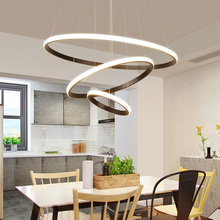 цены Modern LED Pendant Lights For Dining Room lamparas colgantes pendientes Hanging Decoration Lamp Lighting suspension luminaire