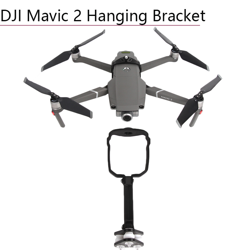 Panorama 360 Degree VR Sports Camera Anti shock Hanging Bracket for Mavic 2 Top Mount Holder Adapter for DJI MAVIC 2 PRO ZOOM in Drone Accessories Kits from Consumer Electronics
