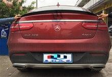 Haute Qualité En Fiber De Carbone Spoiler Pour Mercedes-Benz GLE Coupé GLE320 GLE400 GLE450 GLE AMG63 2015.2016.2017 Marque Nouveau Spoilers