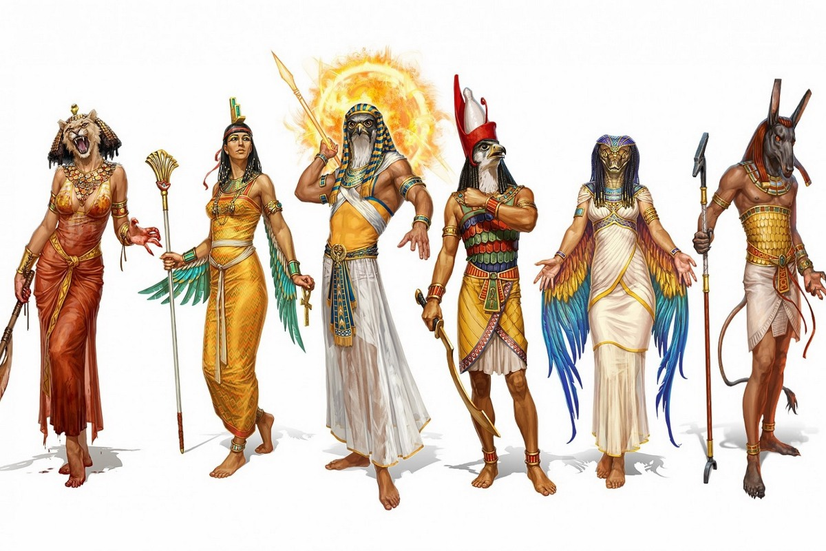 Ancient Egyptian Goddess Hathor Egyptian Gods And Goddesses