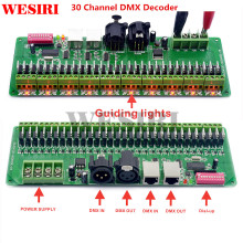 30 Channel DMX 512 RGB Controller 30CH DMX RGB LED Strip Decoder Dimmer Driver DC9V 24V