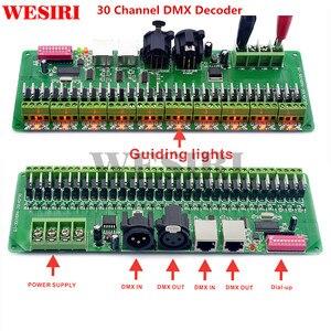 Image 1 - 30 kênh DMX 512 RGB Điều Khiển 30CH DMX RGB LED Strip Giải Mã Dimmer Điều Khiển DC9V 24V