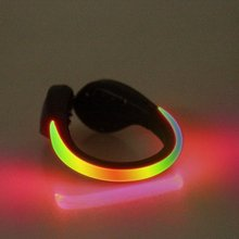 Outdoor Luminous Safety Night Running Shoe Clips Cycling Bicycle Bike LED Outdoor Sports Warning Lamp Safety Light