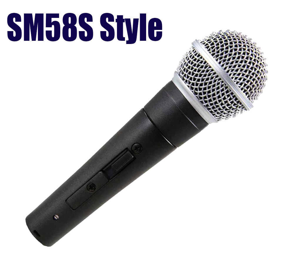 Finlemho Professional Microphone Dyanmic Karaoke Recording Studio Vocal Capsule For Guitar Amplifier Drum Kit Instrument Mixer Live Equipment Consumer Electronics