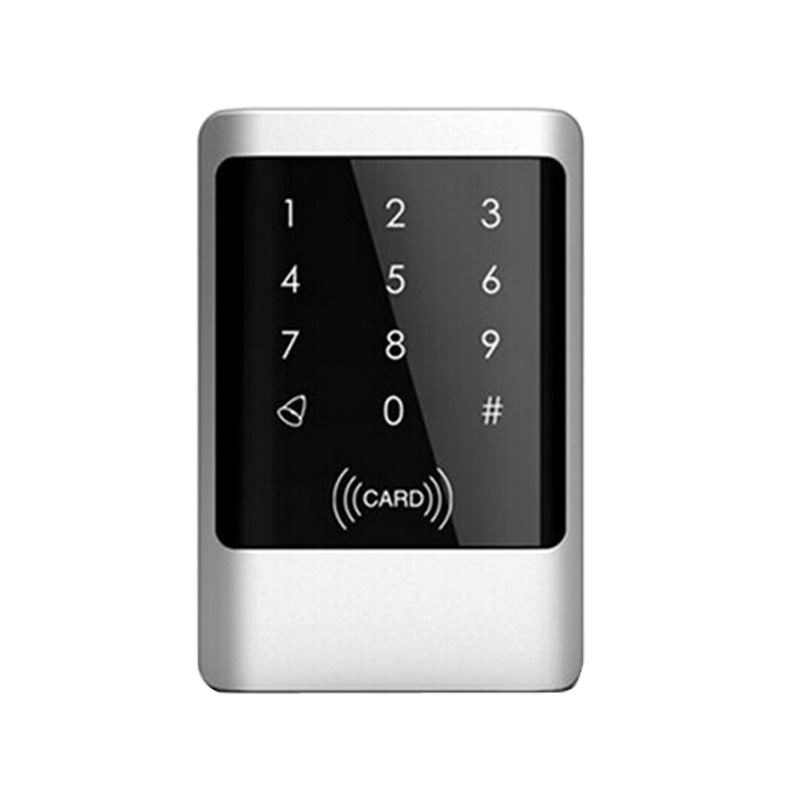 Wholesale Metal Waterproof RFID Card Reader Keypad Door Access Control Free Shipping original access control card reader without keypad smart card reader 125khz rfid card reader door access reader manufacture