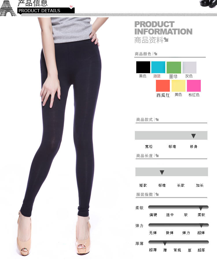 7194d3d88a7 Plus Large Size Summer Fat Women Black Modal Pants Leggings Tights For Women  Clothing Multi Colour High Elastic Leggings-in Pants   Capris from Women s  ...