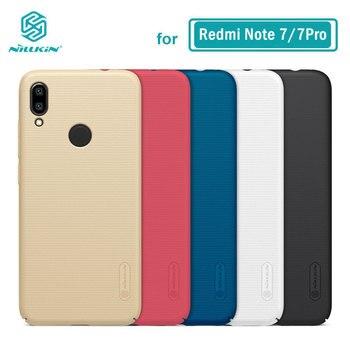 Redmi Note 7 Invólucro Caso Nillkin Fosco PC Rígido de Volta Caso Capa Para Xiaomi Redmi Nota 7 Pro 7S 8 8Pro 6.3''