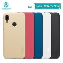 Redmi Note 7 durumda Nillkin buzlu Hard Case arka Xiaomi Redmi Note 8 8T 9S 9 Pro max 7S Note7 Note9 kapak