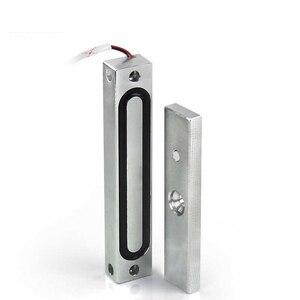 Image 3 - 110 كيلوجرام الباب بوابة الوصول قفل مغناطيسي كهربائي للماء 12vdc