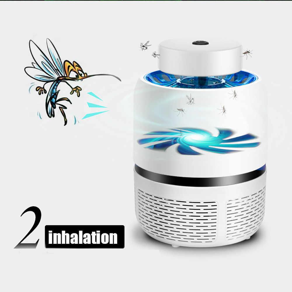 Высококачественный уникальный практичный электрический Летающий Жук Zapper убийца насекомых-комаров Светодиодный лампа ловушка лампа борьба с вредителями Прямая доставка
