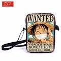Аниме One Piece / наруто кроссбоди сумка мешок мальчики сумки дети плечо сумки для закусок дети школьные Bookbag