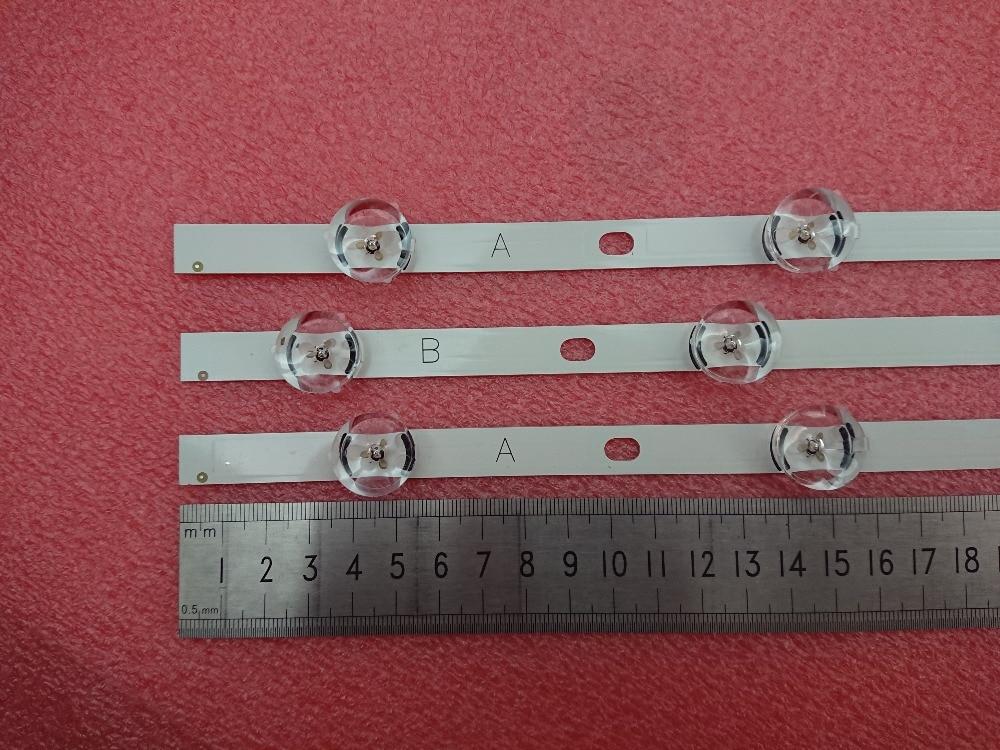 New3pcs 6/7LED 590mm LED backlight bar compatible for LG TV 32LN5100 32LN545B 32LN5180 Innotek POLA2.0 32 inch A B type