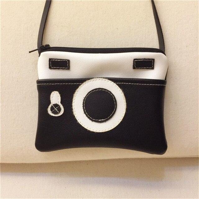 Girl Mini Handbag Kids Small Wallet Boy Coin Purse Bag Coin Pocket Money Bags Key Crad Holder Case Baby Camera Shoulder Bag
