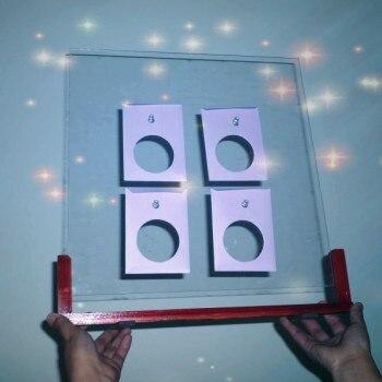 Magic tricks clear prediction board predict future mentalism magic stage magic
