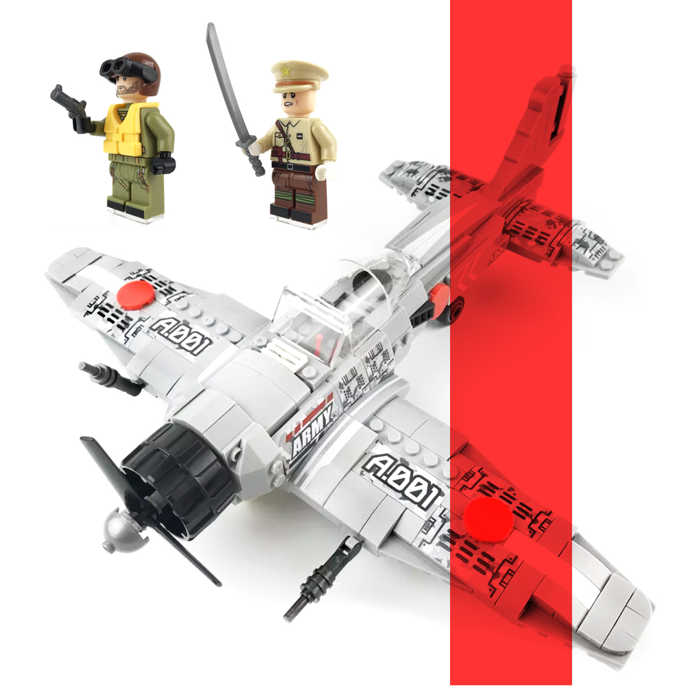 SENBO 12781 432Pcs World War II Classic Fighter Zero Type Plane Set Military Bombed Pearl Harbor Legoe Model Building Blocks Toy pearl harbor in films