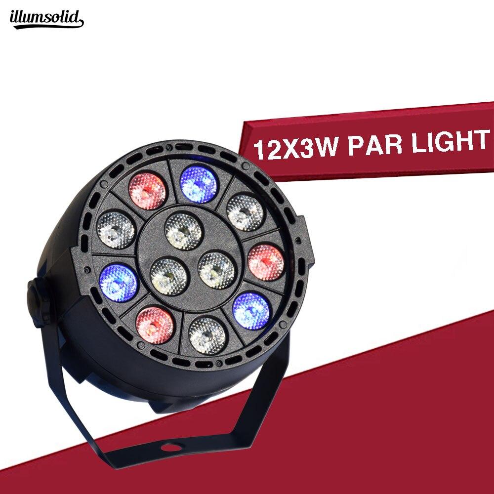 Led Par Can Light DMX Stage Spotlight DMX512 DJ Effect Light For KTV Bar Party