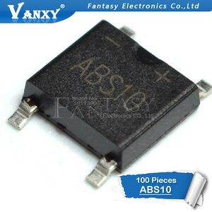 Image 2 - 50 sztuk ABS10 SOP 4 SMD mostek prostowniczy stos układ scalony
