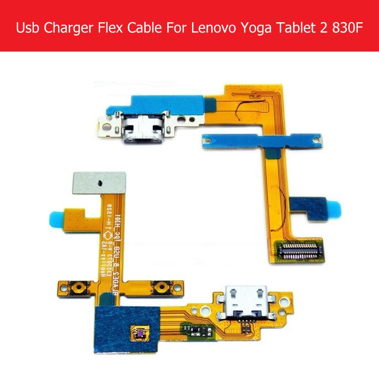 Galleria fotografica 100% original USB Charger Flex Cable For Lenovo Yoga tablet 2 830F 8.0