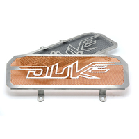 For Duke390 Motorcycle Accessories CNC Radiator Grill Black Guard Cover Protector Radiator Protection For KTM DUKE