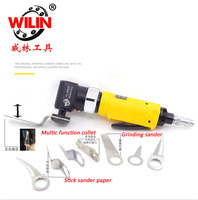 Wilin Pneumatic Tools Windshield Cutter Machine Left And Right Orbital Air Scraper Multi Functions WL 66532