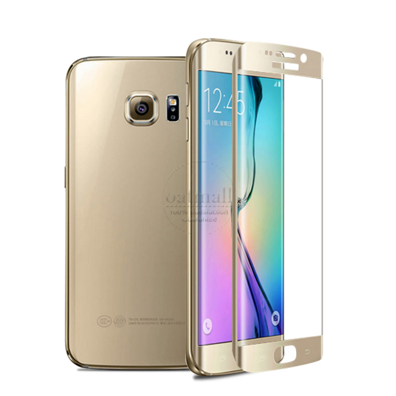 ᓂNew For Samsung Galaxy S6 ᐃ Edge Edge Tempered Glass இ ...