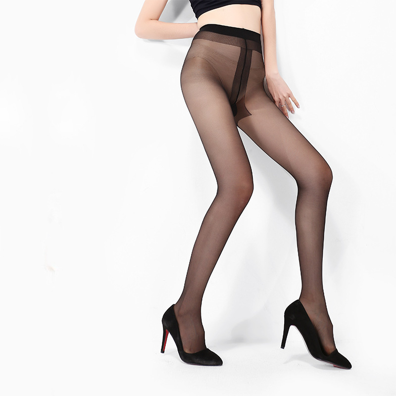 Buy New Women Tights Summer Sexy Tights Women T Crotch Female Silk Stockings Ultrathin Nylon Pantyhose Collant Female Hosiery