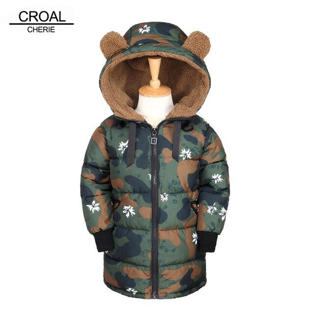 ebbed6e0b CROAL CHERIE Bear Ear Winter Kids Girls Boys Clothes Cotton Boys ...