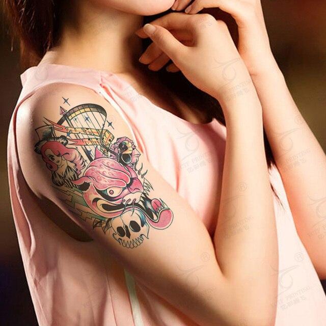 Tattoo sex rubbing
