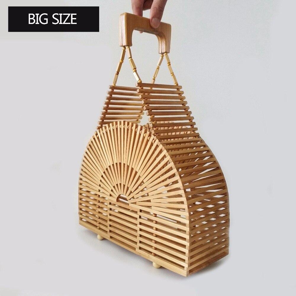 Luxury handbags women bamboo top handle 2