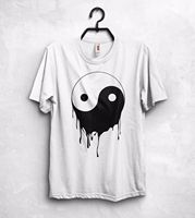 Yin And Yang T Shirt Top Chinese Philosophy Cool Awesome Melting Logo Party Gift T Shirt
