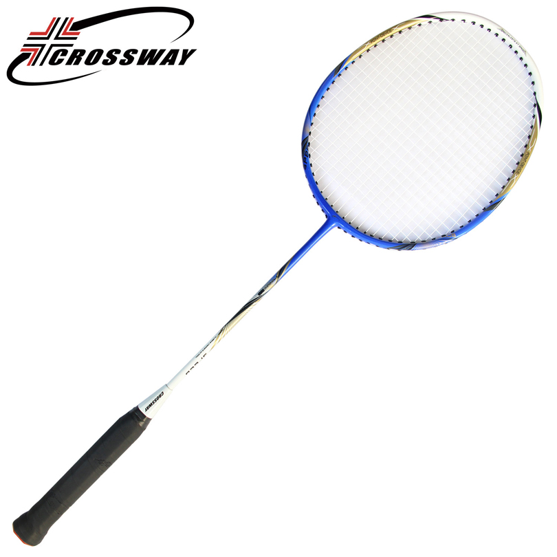 CROSSWAY Carbon Badminton Racket With String Urltra-light Durable Badminton Racket Made Of Carbon Fiber Single Pack Hot Selling