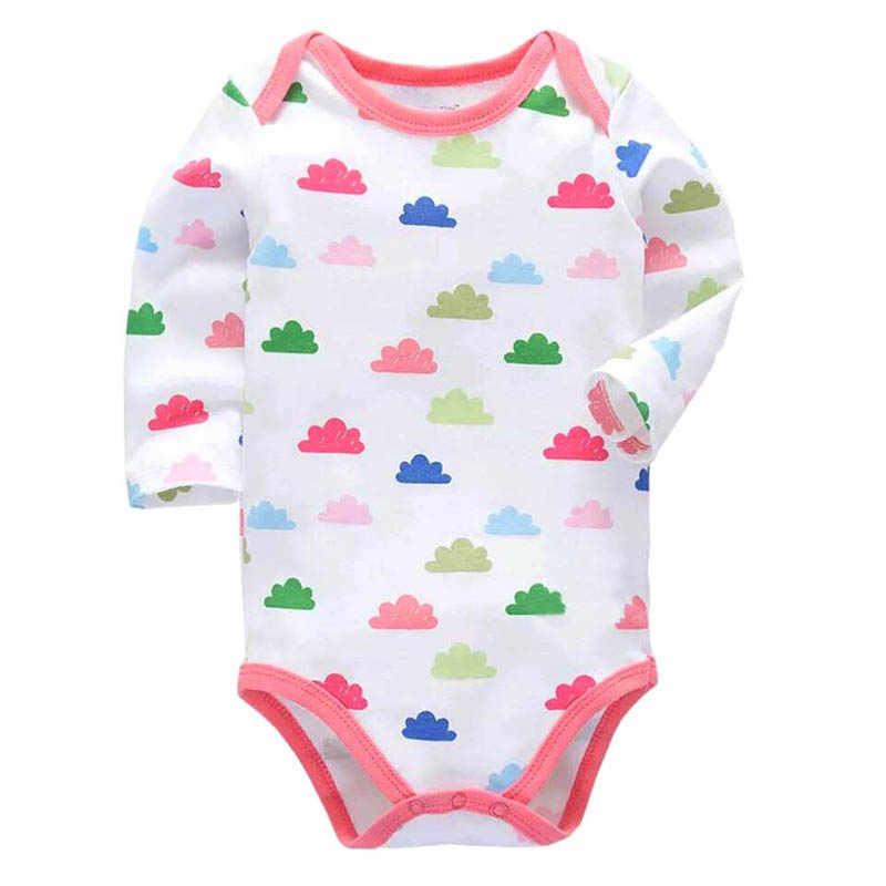 יילוד Bodysuits 100% כותנה פעוט ילד סרבל בגדי יילוד ארוך שרוול תינוקות חורף תינוק בגד גוף סט Ropa ילדי בגדים