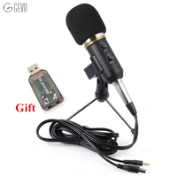 2016 BM 300FX USB Condenser Sound Recording Audio Processing Wired Microphone With Stand For Radio Braodcasting