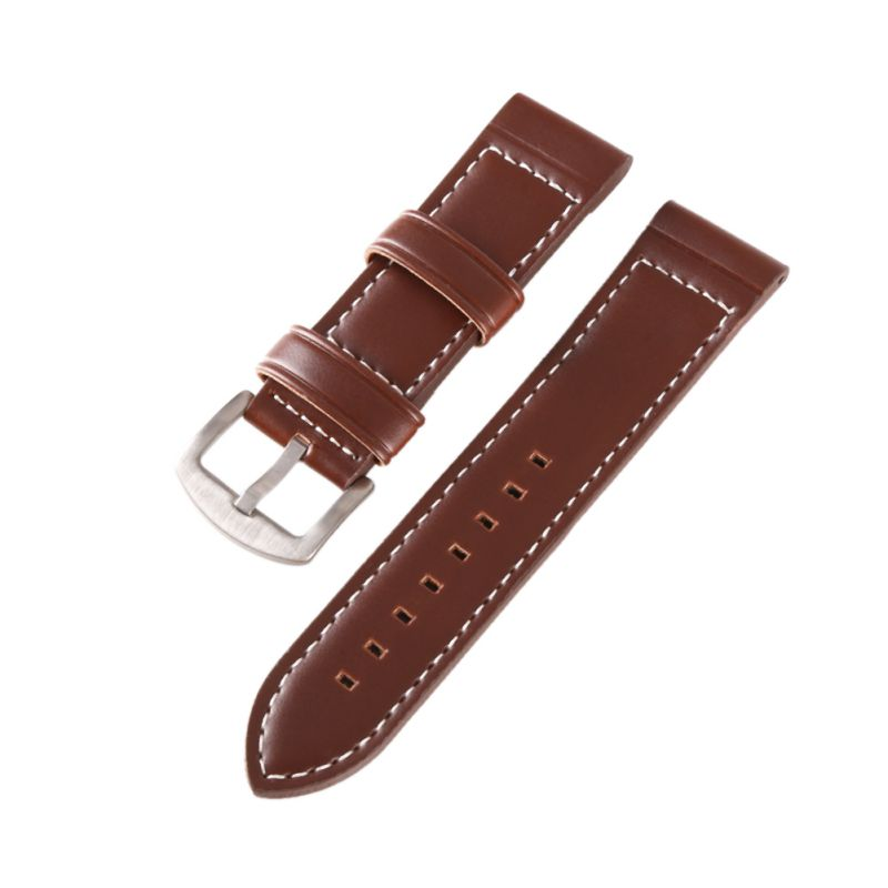 18MM 20MM 22MM 24MM Vintage Leather Fashion Watch Band Watch Men Strap Man Watches Straps Black Brown Blue high quality 20mm 22mm 24mm leather watch strap man watch straps black brown gray stainless steel buckle thick line watch band