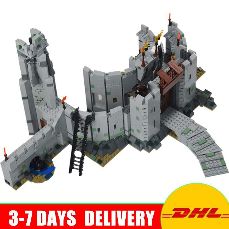 DHL Lepin 16013 The Lord of the Rings Series The Battle Of Helm' Deep Buiks Brlding Blocicks Set Toys Gifts Clone 9474 In Stock jonsbo lord of the rings mod screw set red
