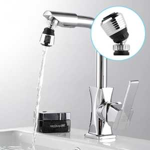 Tap-Adapter Faucet-Aerator Swivel-Head Nozzle Rotatable Water-Saving Water-Bubbler 360-Degree
