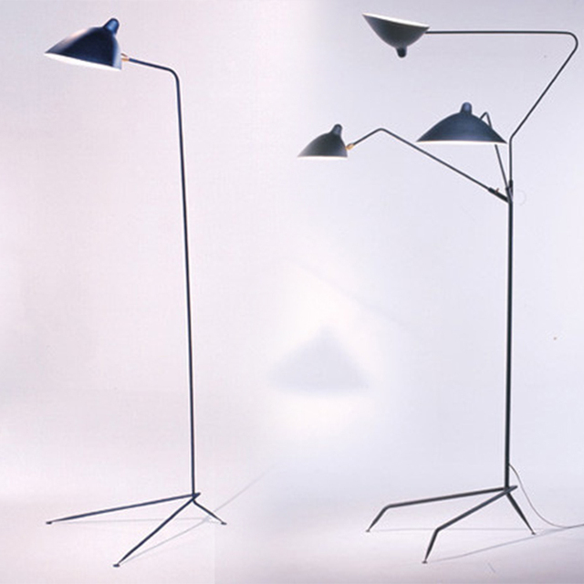 Serge Mouille 3 Arms Claws Led Floor Lamp Iron Floor Lighting For Bedside  ,home Decoration