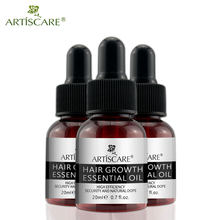 ARTISCARE Hair Growth Essence Hair Growth Products Essential Liquid Treatment Preventing Hair Loss Hair Care Andrea 20ml 3PCS(China)