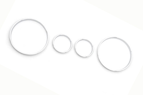 Chrome Styling Dashboard Gauge Ring Set for BMW E39-in Chromium Styling from Automobiles & Motorcycles