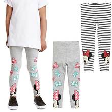Spring Autumn Children Girls Minnie Mouse Leggings Cartoon Pattern Print  Children Pants Elastic Waist Kids Leggings 9daead3f7fee