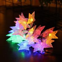 Holiday Star Shape Decoration Lights indoor Beautiful Fairy Tale Living Room New Year Christmas Wedding Outdoor Decoration 3m